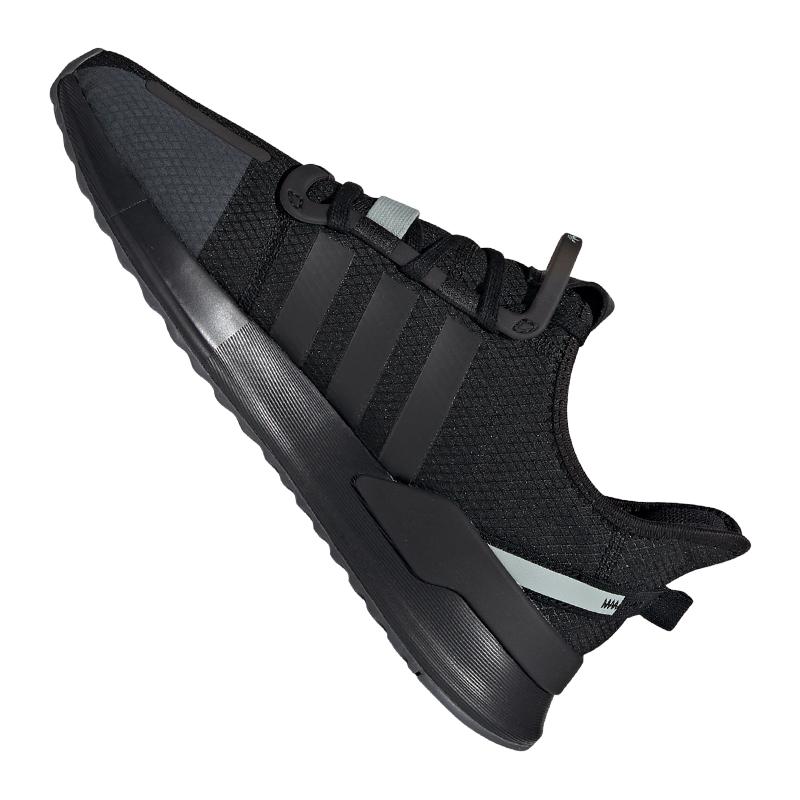 Détails sur Adidas Originals U _ Path Course Baskets Argent Noir