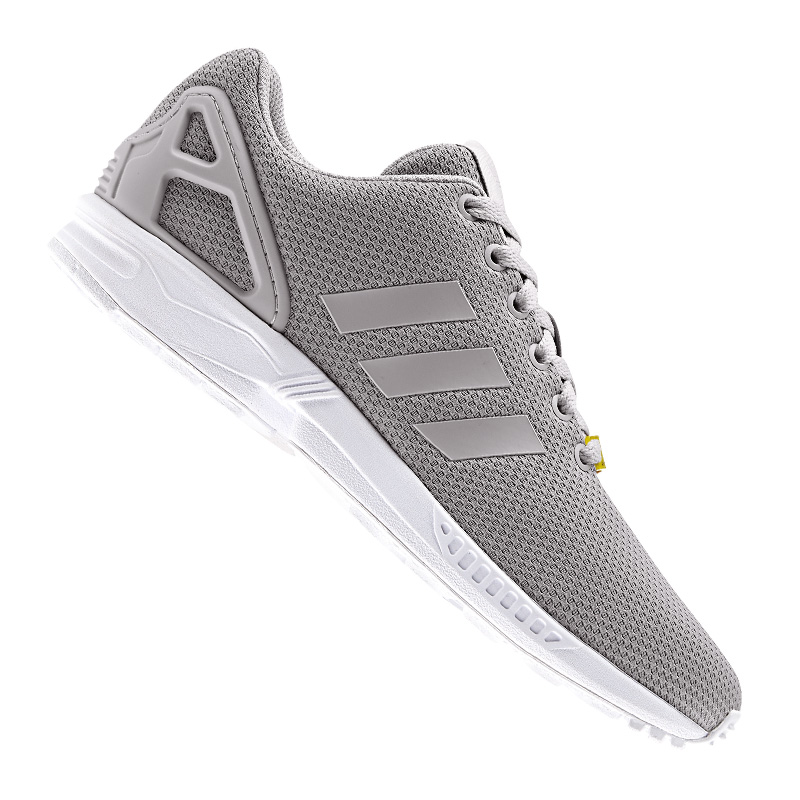 Adidas Originals ZX Flux Basket Gris Blanc