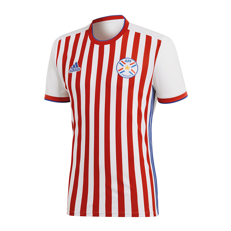 La imagen se está cargando Adidas-PARAGUAY-Camiseta-Casa-WM-2018-blanco 030f93db91cfb