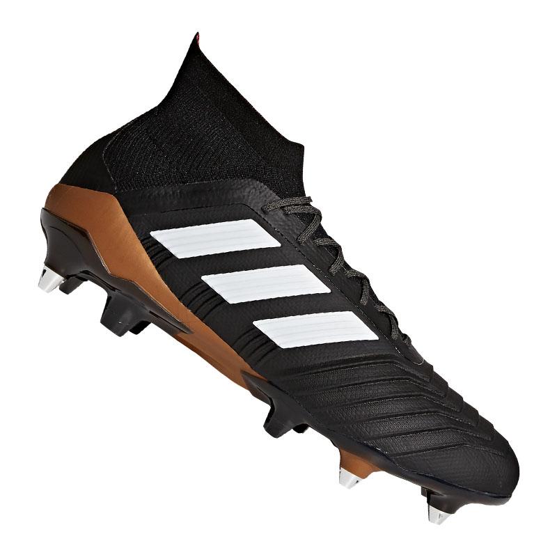Details about Adidas Predator 18.1 Sg Black White