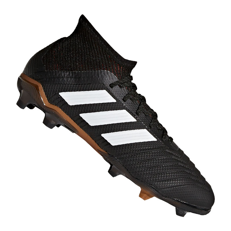 vende in uso durevole sito web per lo sconto Dettagli su Adidas Predator 18.1 Fg J Bambini Bianco Nero