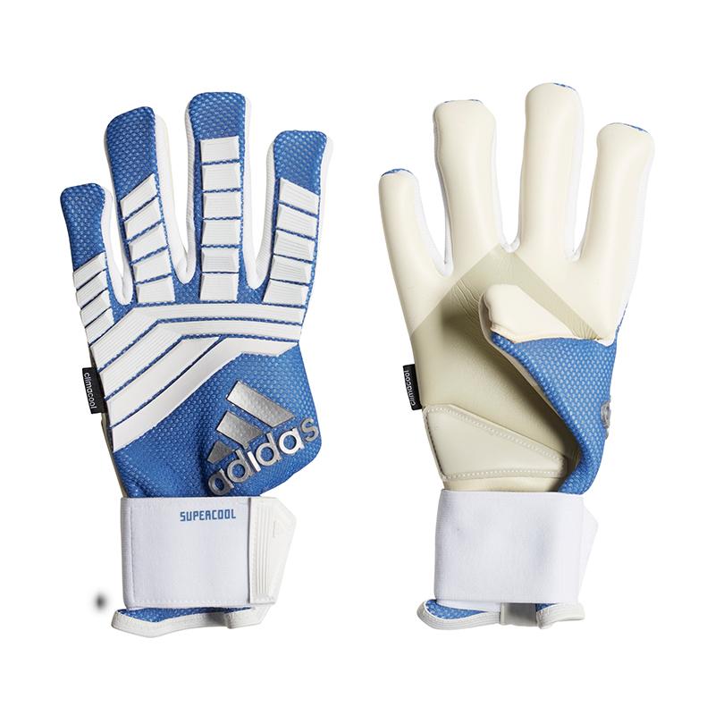 Adidas Protator Super Cool TW-Handschuh Weiss Blau  | München
