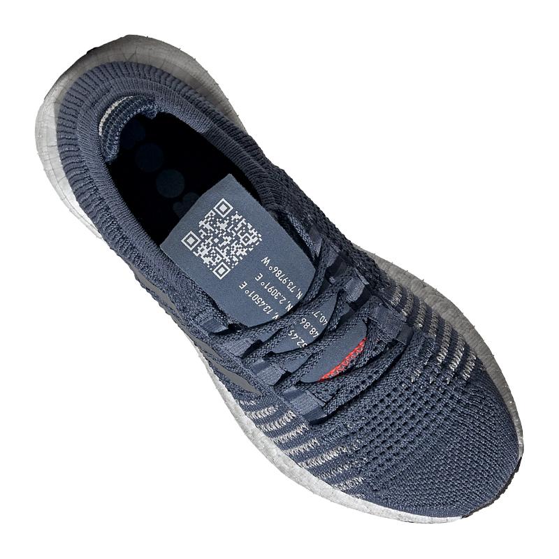 Details zu adidas Pulse Boost HD Running Damen Blau Grau