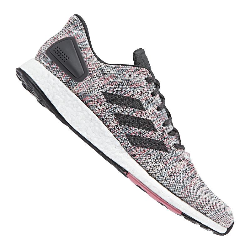the best attitude f95a2 29198 La imagen se está cargando Adidas-Pure-Boost-Dpr-Running-Gris-Negro