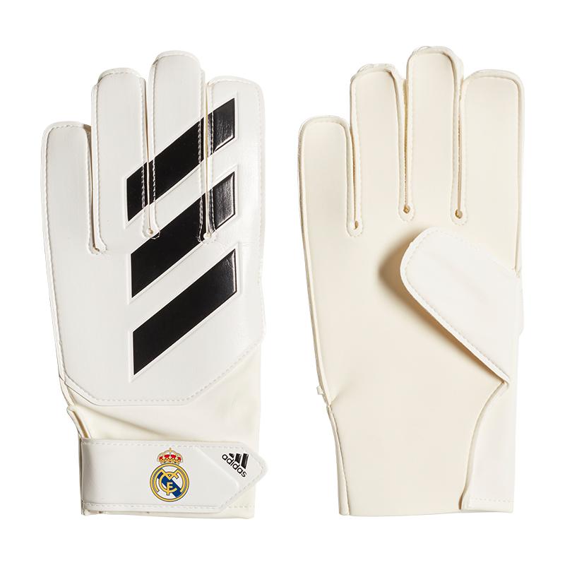 Adidas Real Madrid pro Guantes de Portero Kids Blanco
