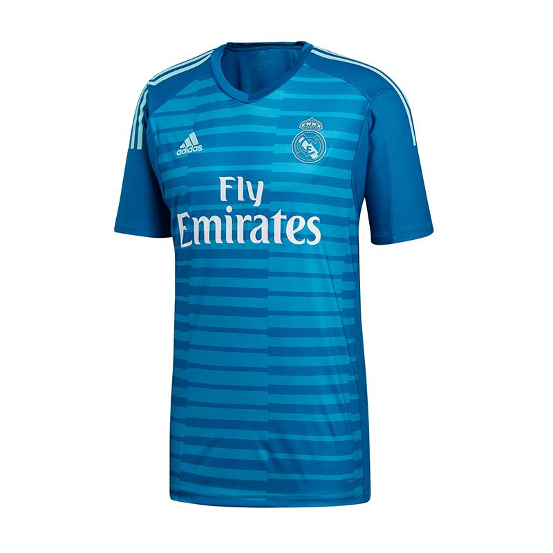 Detalles de Adidas Real Madrid Camiseta de Portero de Fútbol Fuera 20182019