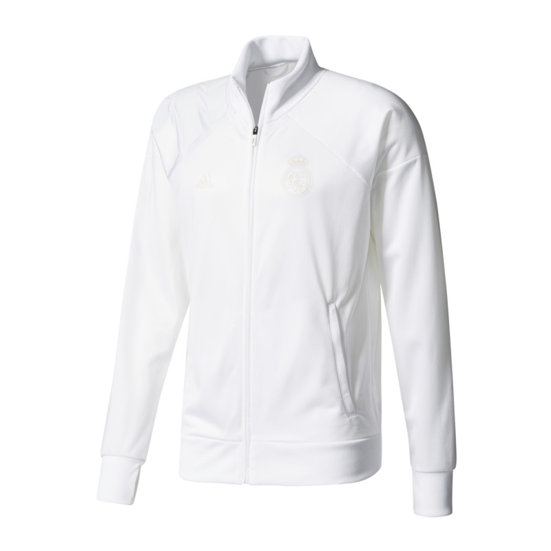 Details zu adidas Real Madrid Track Top Jacke Weiss