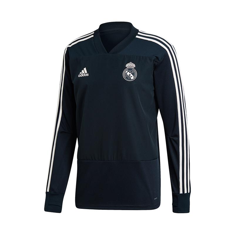 Adidas Real Madrid Training Felpa blu