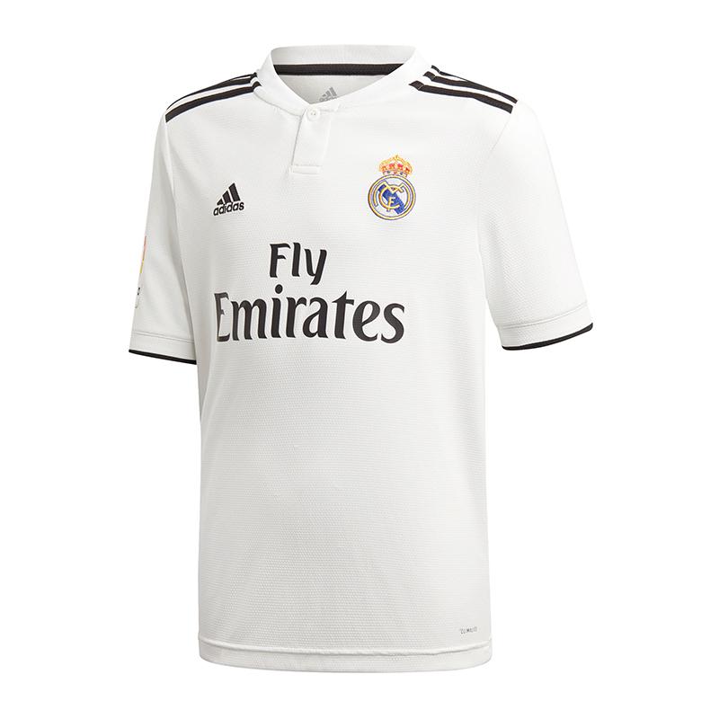 b3122a8379f Adidas Real Madrid Maillot Maison Lfp Enfants 2018 2019 nqewts3542 ...