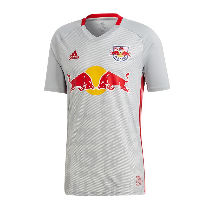 Adidas rojo Bull New York Camiseta Casa 18 19 blancoo