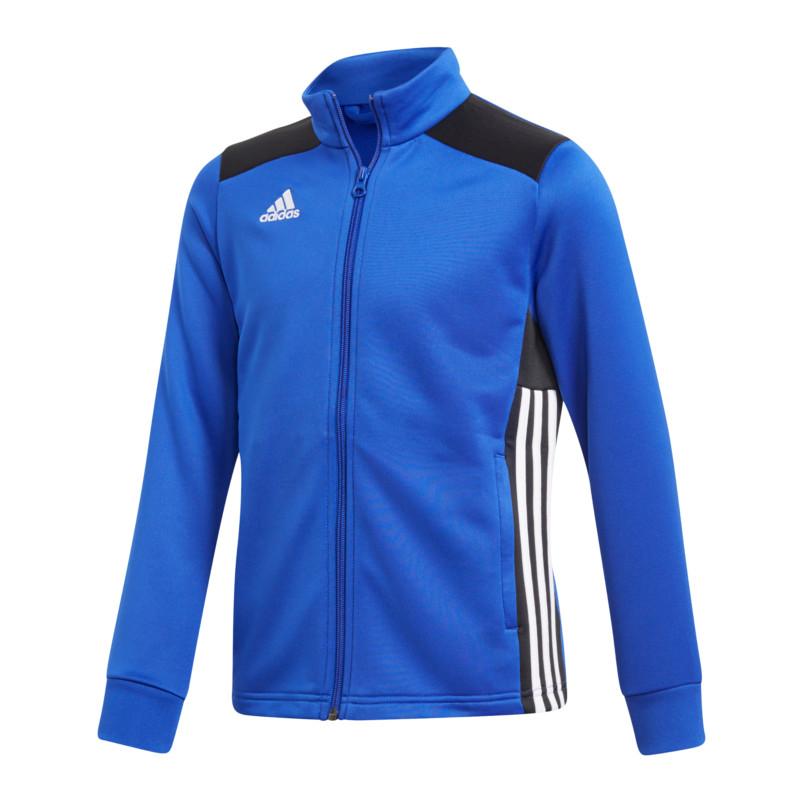 Enfants Détails Bleu En 18 Sur Adidas Regista Noir Veste Polyester dCxBrWoe
