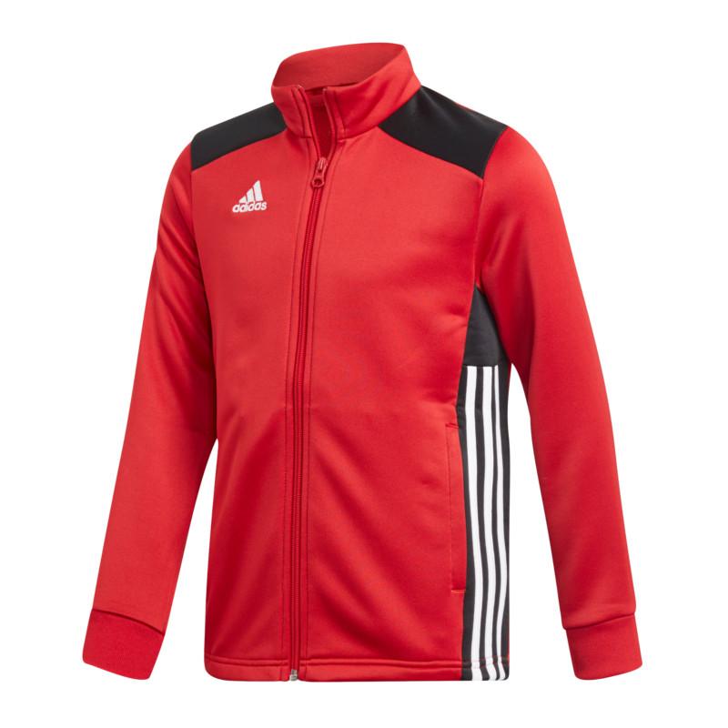 Details zu adidas Regista 18 Polyesterjacke Kids Rot Schwarz