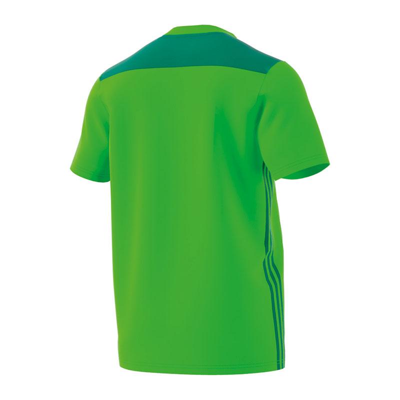 Adidas REGISTA 18 Camiseta manga corta niños verde claro  aa16d1bbd8348