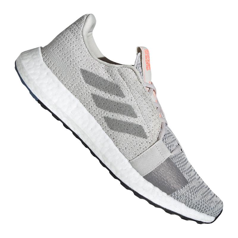 Détails sur Adidas Sense Boost Go Running Gris afficher le titre d'origine