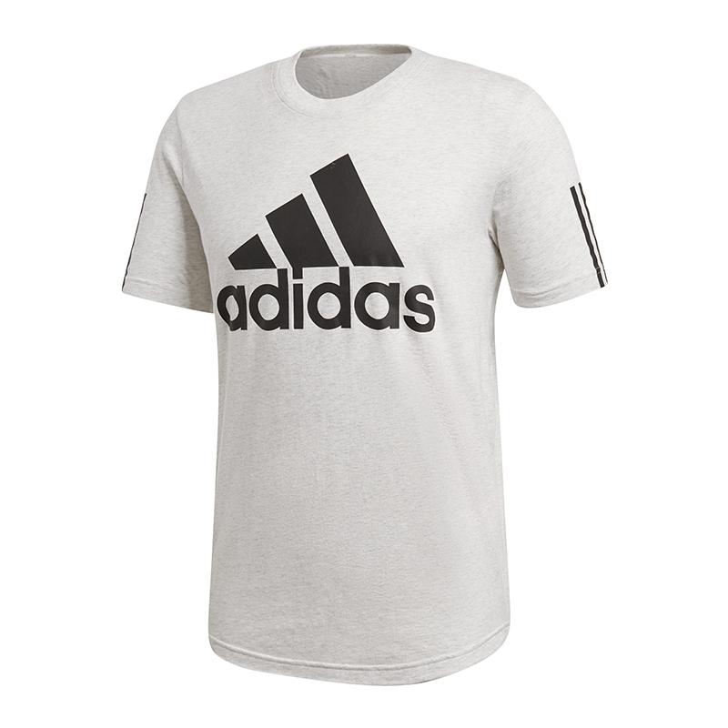 adidas-Sport-ID-Logo-T-Shirt-Weiss-Schwarz