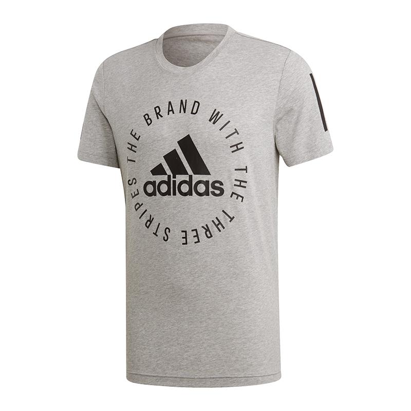 994c86067949 ADIDAS SPORT ID Tee T-Shirt Grigio Nero - EUR 17