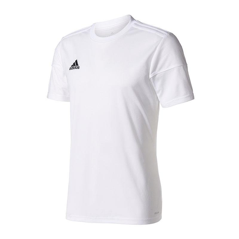 100% Vero Adidas Squadra 17 Maglia Manica Corta Bianco Colore Veloce