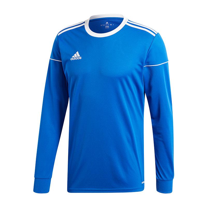 Adidas-Squadra-17-de-Manga-Larga-Camiseta-Ninos-Azul-Blanco