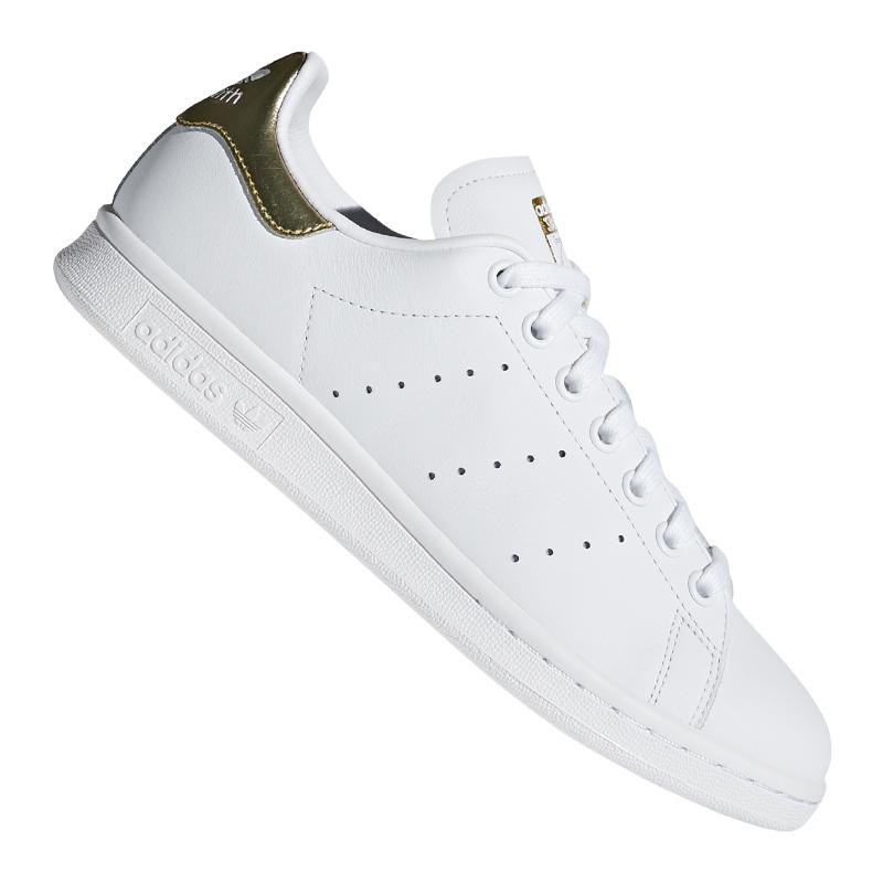 Detalles de Adidas Originals Stan Smith Zapatilla Deportiva Mujer Blancas
