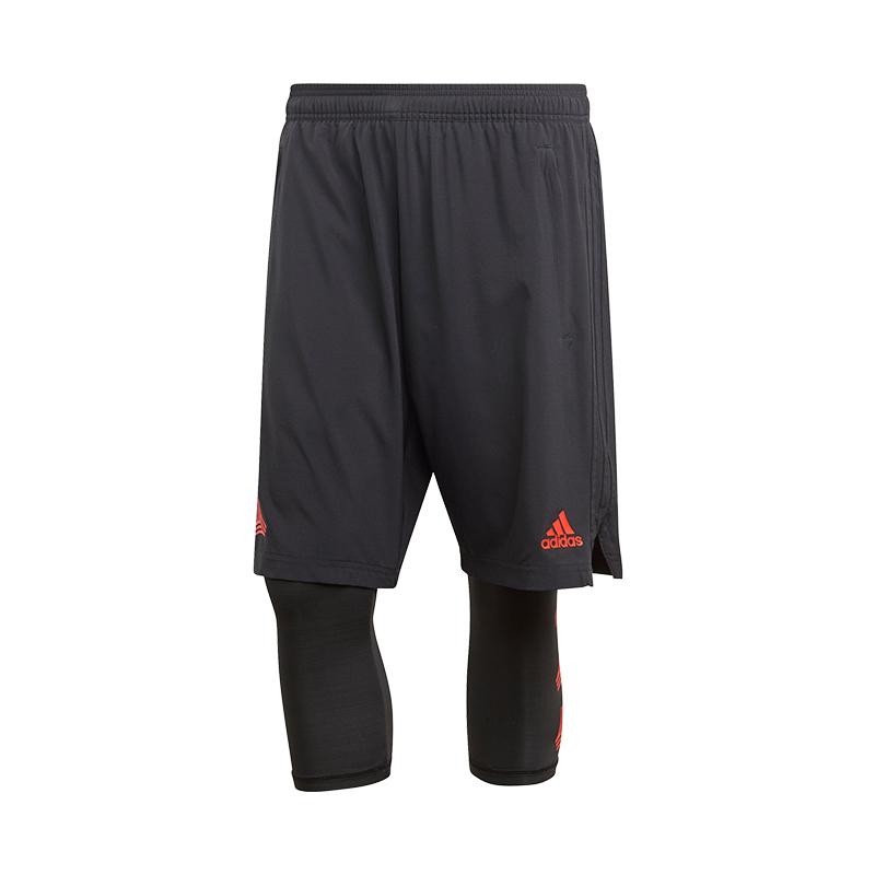 Adidas Tango 2 1 Corto Nero