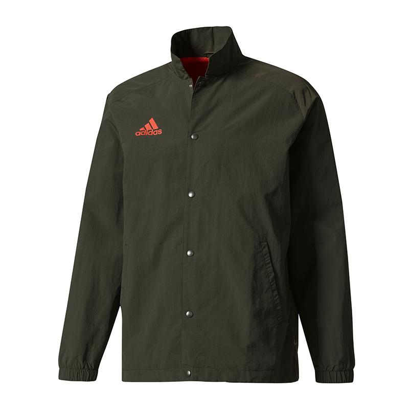 Dettagli su Adidas Tango Coach Giacca Verde Scuro