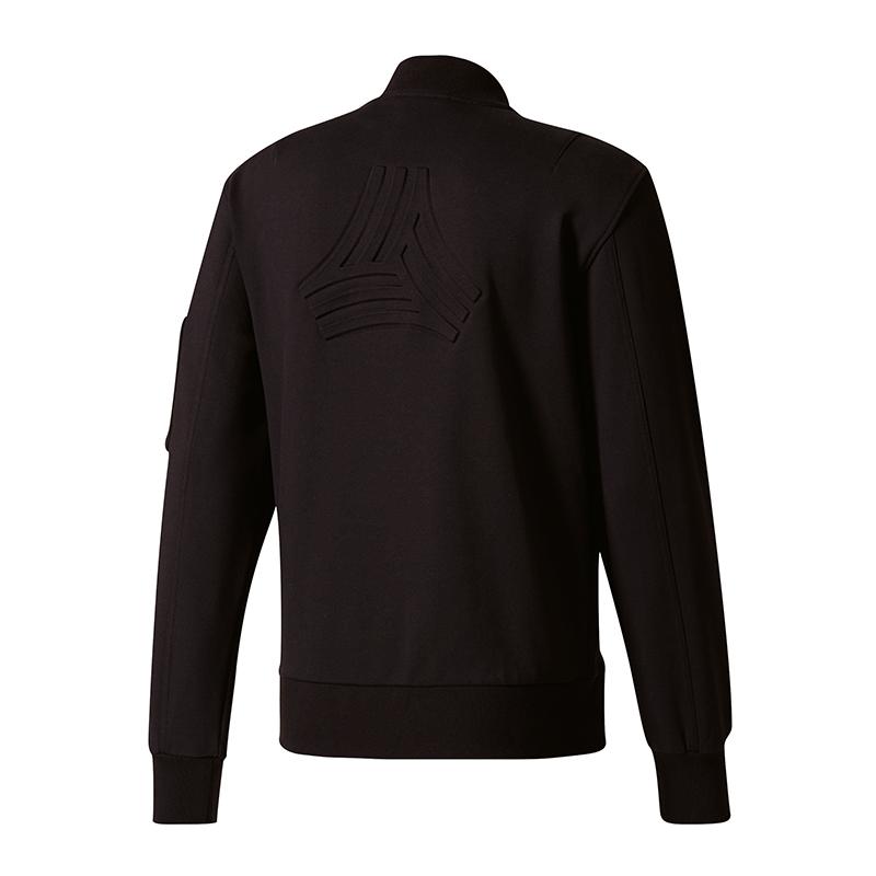 Details about Adidas Tango Future Sweat Bomber Jacket Black