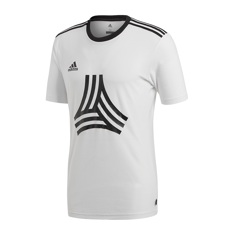 La imagen se está cargando Adidas-Tango-Camiseta-Logo-Camiseta-Blanca 2586565aacca1