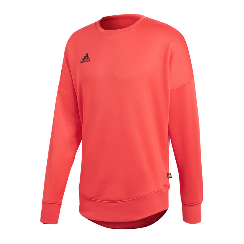 Adidas Tango Terry Terry Terry Jersey Sweatshirt Rot 136962