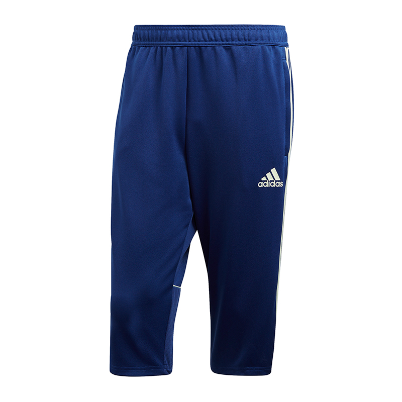 Adidas Tango Training 3 4 Pantaloni bluee Bianco