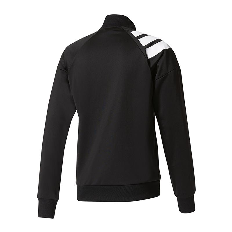 adidas-Tanis-Track-Jacket-Jacke-Schwarz-Weiss Indexbild 2