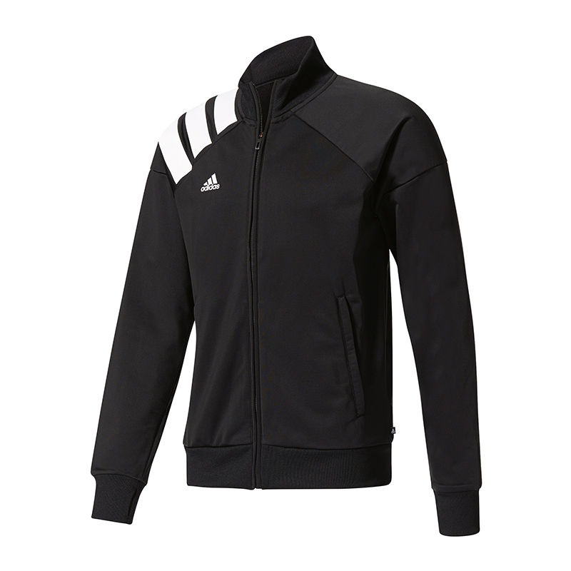 Details zu adidas Tanis Track Jacket Jacke Schwarz Weiss