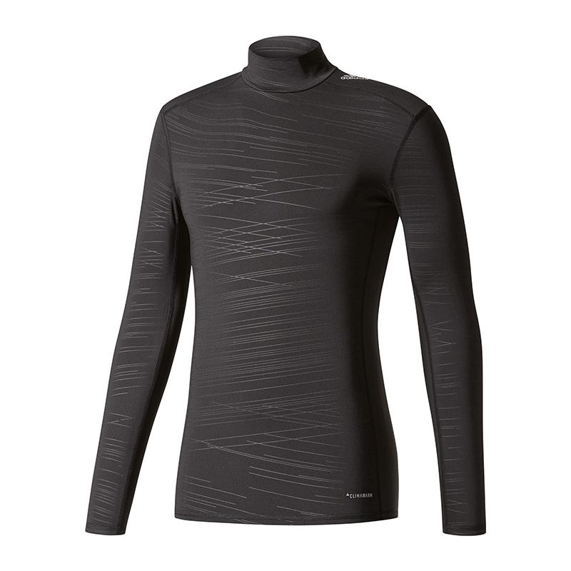 Adidas Tech Fit Base Climawarm Ls Faux Noir