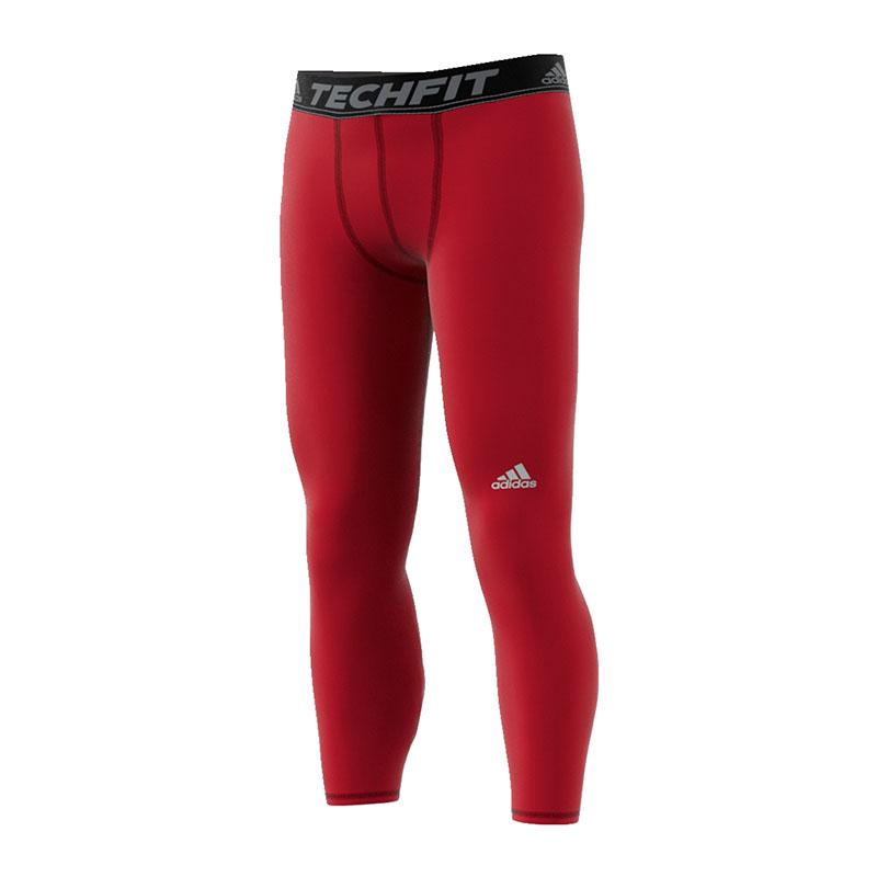 Adidas Tech Fit Base Étroit Legging Rouge