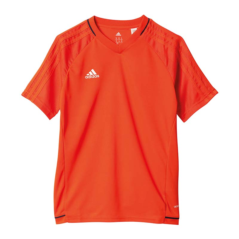 Details about Adidas Tiro 17 Training Jersey T Shirt Kids Orange