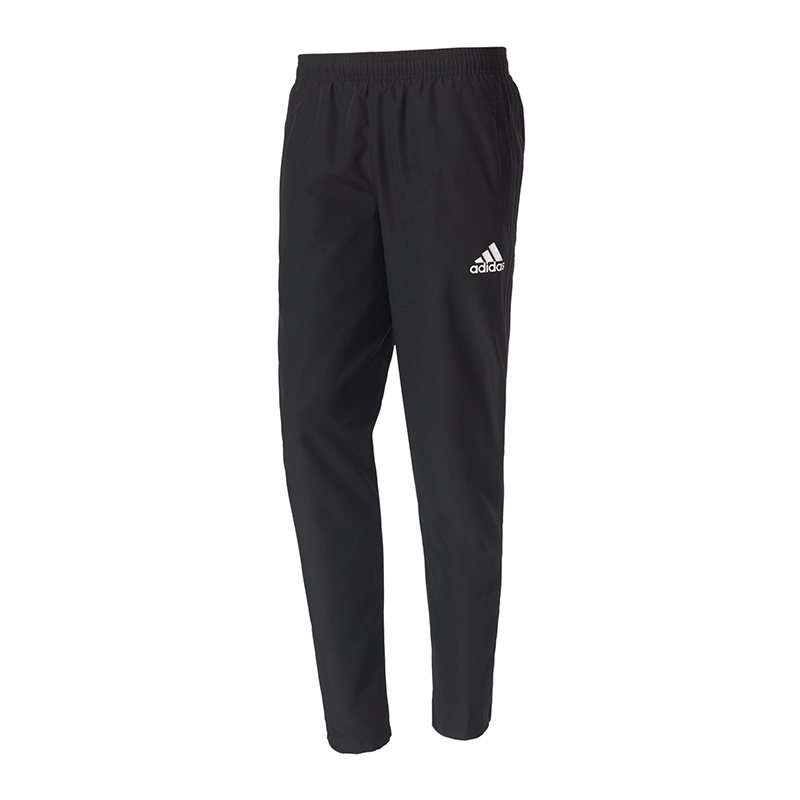 adidas tiro 17 woven pant hose lang schwarz weiss eur 21. Black Bedroom Furniture Sets. Home Design Ideas