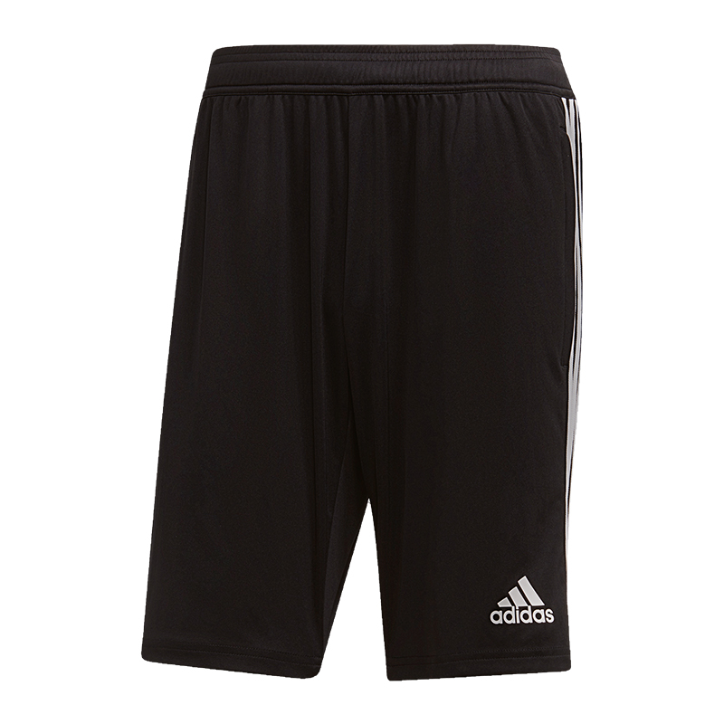 Adidas-Tiro-19-Short-D-039-Entrainement-Noir-Blanc