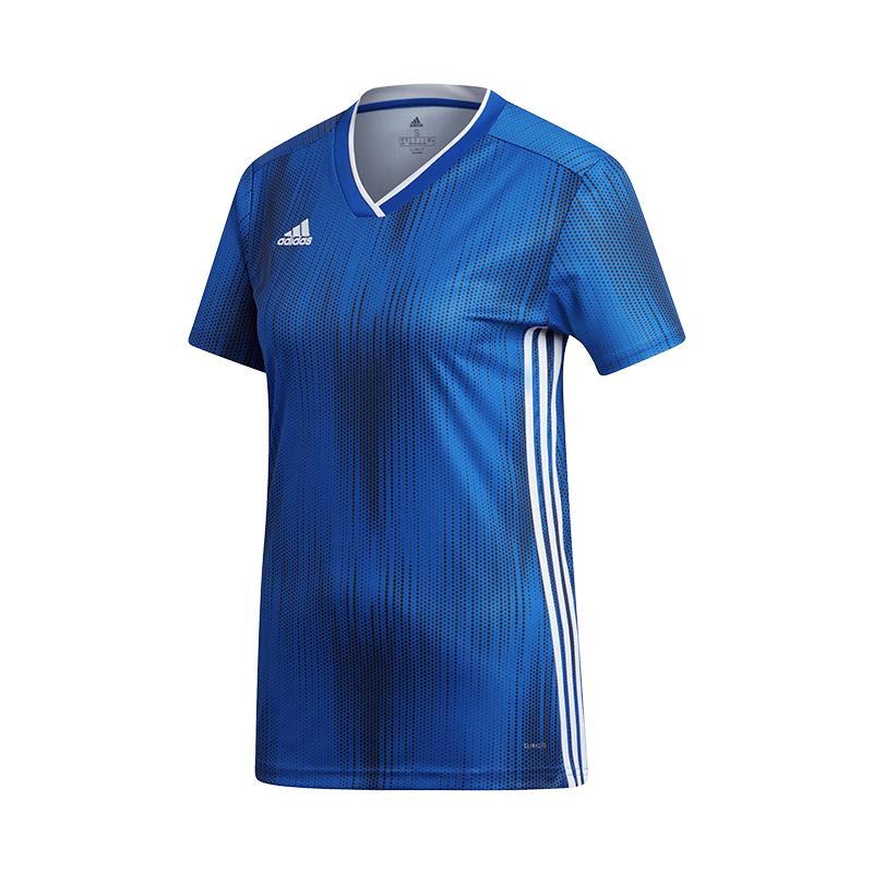 Détails sur Adidas Tiro 19 Maillot Manches Courtes Femmes Bleu