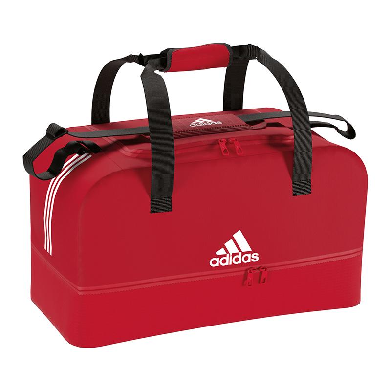 ef3ed3012d3a7 Das Bild wird geladen adidas-Tiro-Duffel-Bag-Tasche-Gr-L-Rot-
