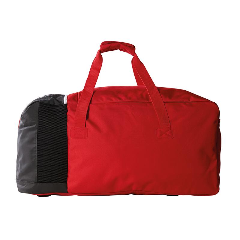 Details zu adidas Tiro Teambag Gr. L Rot Schwarz Weiss