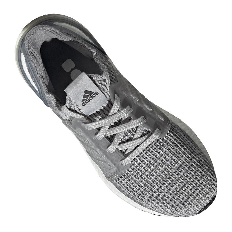 Details zu adidas Ultra Boost 19 Running Damen Grau Schwarz