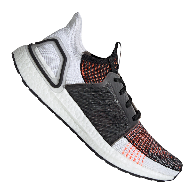 Details zu adidas Ultra Boost 19 Running Weiss Schwarz