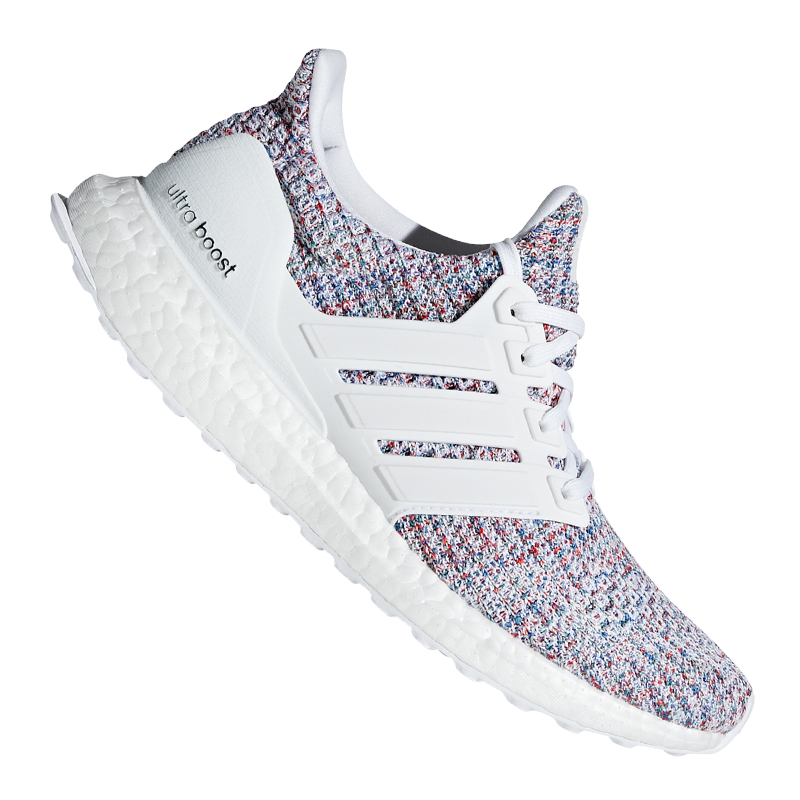 Adidas Ultra Boost Running women whiteo red
