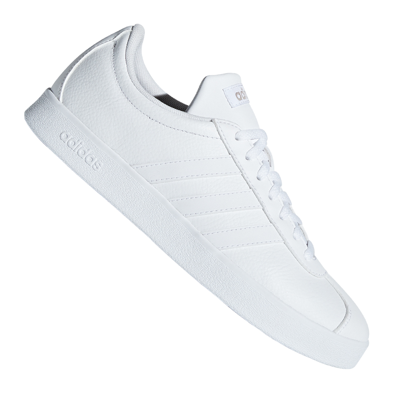 En el piso Medicina Planta de semillero  Adidas Vl Court 2.0 Zapatilla Deportiva Mujer Blanco | eBay
