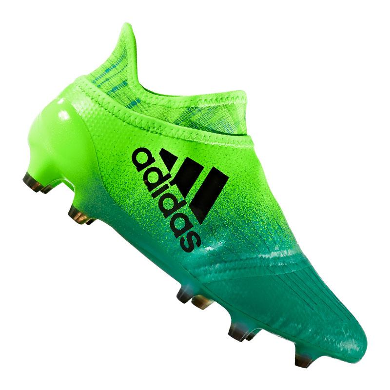 purchase cheap 2f3ed 1864c ADIDAS X 16 + Purechaos FG J Kids Green Black