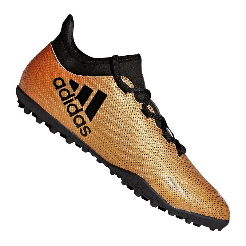 Adidas X Tango 17.3 TF Gold Schwarz