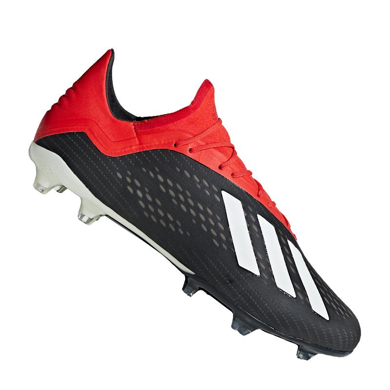 Adidas x 18.2 Fg schwarz rot