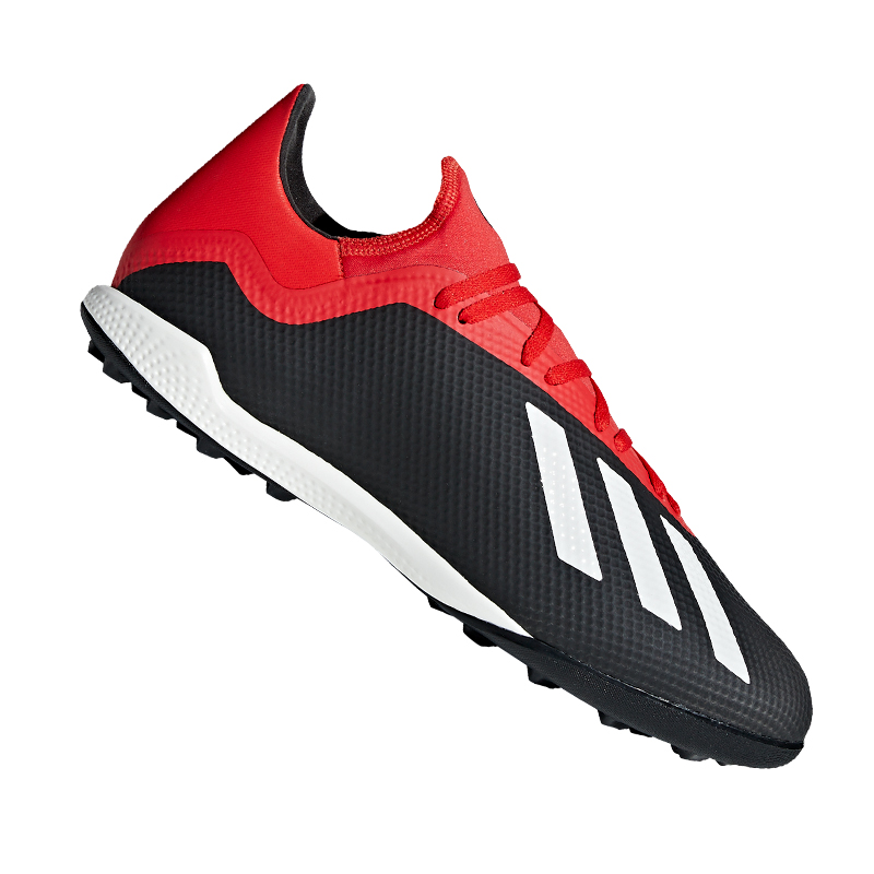 Adidas X 18.3 TF black red