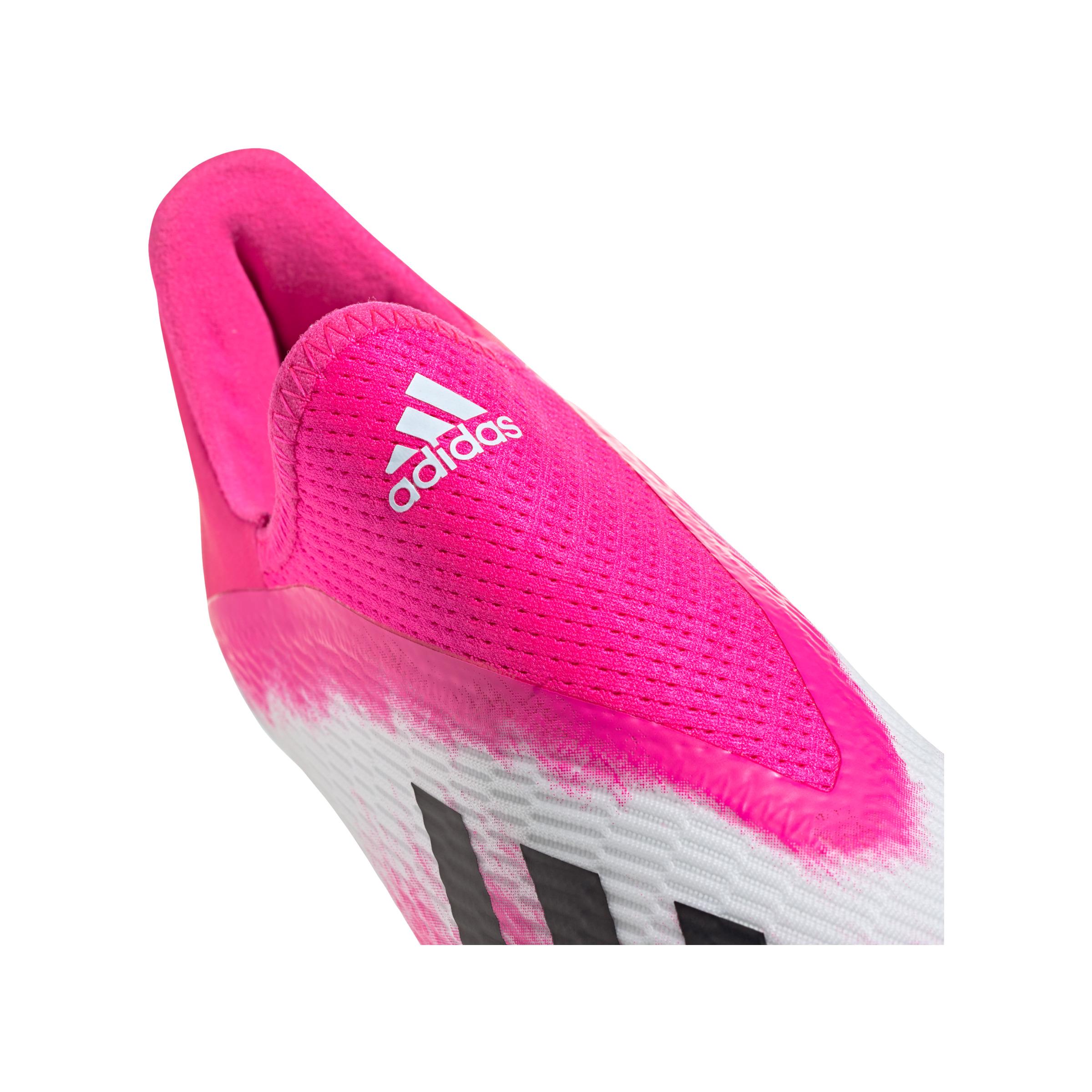 Adidas X uniforia 19.3 ll FG J Kids blanc pink