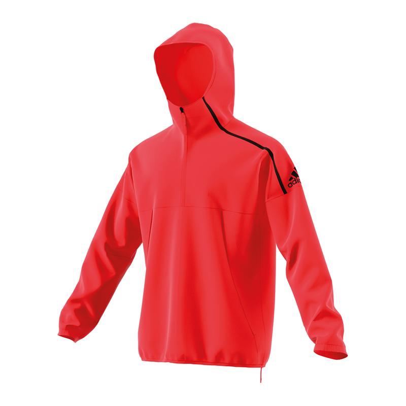 e Rossa Giacca A N Vento Adidas 1nOwEYgxx
