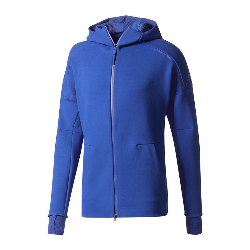n Z Pulse Giacca e Hooded Adidas Hood2 Blue Rv45qcvw